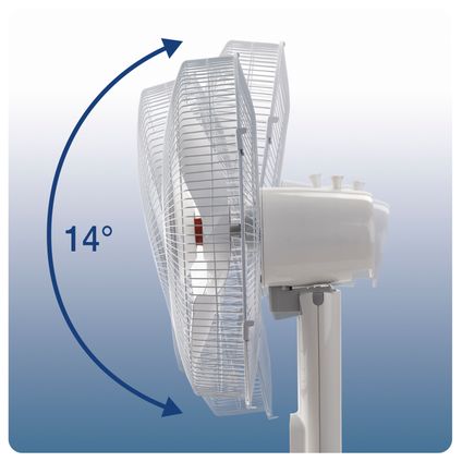 Honeywell ventilator staand HSF600WE 40cm wit
