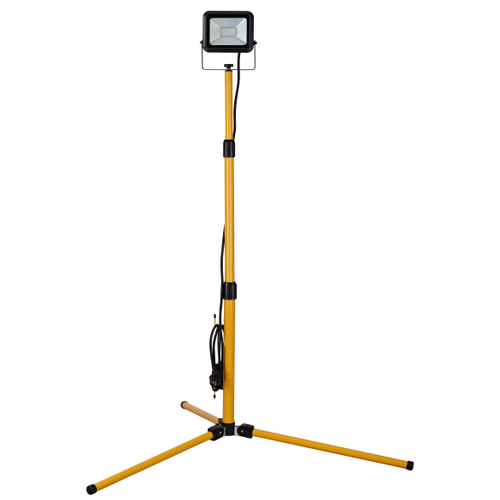 Sencys bouwlamp op statief Ultra-slim geel zwart 20W
