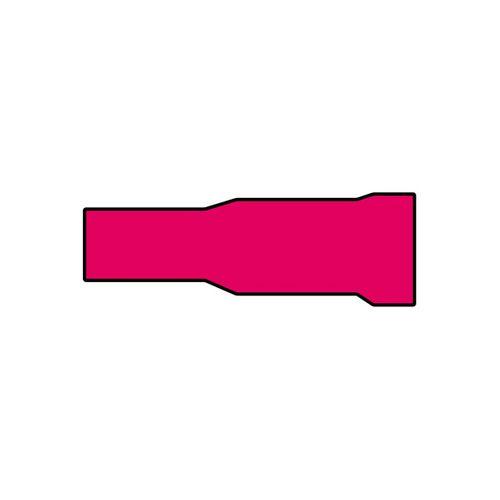 Cosses de câble Carpoint 548 rouge Ø4mm - 10 pièces