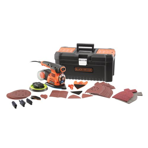 Ponceuse multi-fonctions Black + Decker 'KA280LKA-QS' 220W