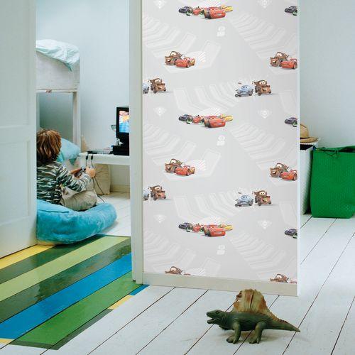 Disney papierbehang Cars 2 meerkleurig