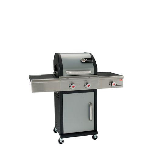 Landmann gasbarbecue Triton PTS2.1 10kW zilver