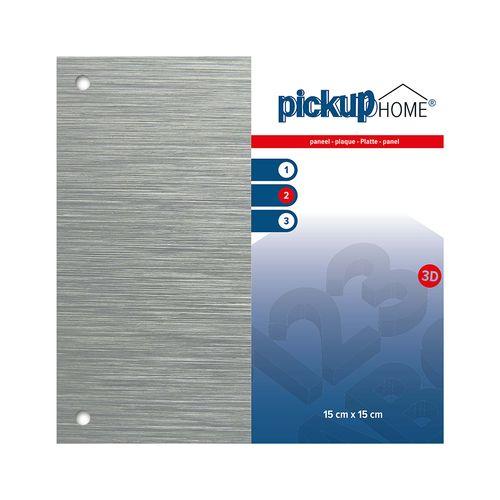 Pickup bordje Home 3D aluminium 15x15cm