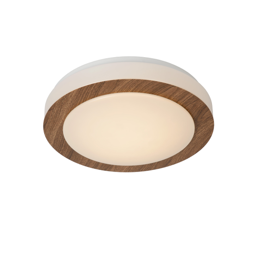 Lucide plafondlamp Dimy hout 12W