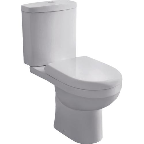 GO by Van Marcke duoblok + met toiletzitting Cobro compleet AO/CA wit