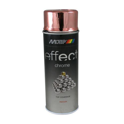 MoTip Deco Effects Peinture à Effet Chrome cuivre 400 ml