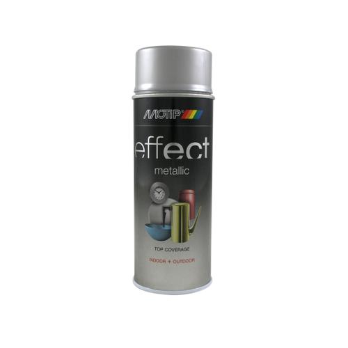 MoTip Deco Effects metallic verf zilver alu 400ml