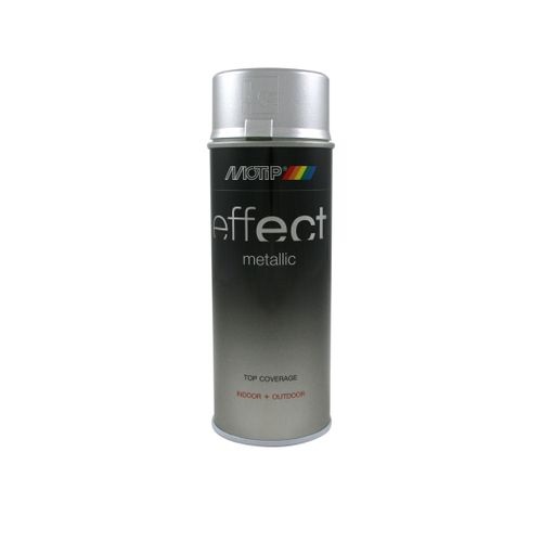 MoTip Deco Effects metallic lak zilver 400ml