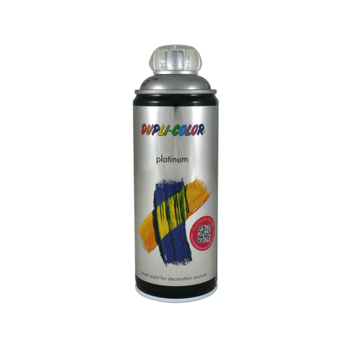 Peinture en spray Dupli-Color Platinum gris aluminium mat 400 ml
