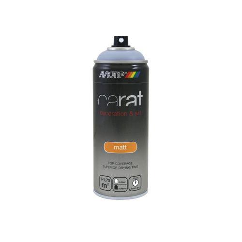 Peinture en spray MoTip Carat gris mat 400 ml