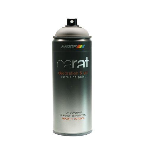 Peinture en spray MoTip Carat blanc pur mat 400 ml