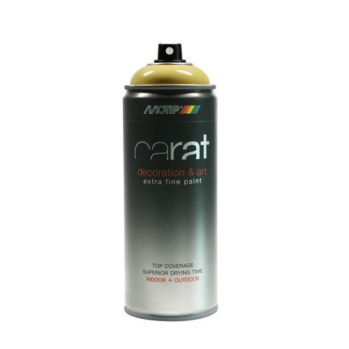 Peinture en spray MoTip Carat jaune pâcques haute brillance 400 ml
