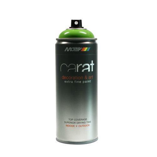Peinture en spray MoTip Carat vert citron brillant 400 ml
