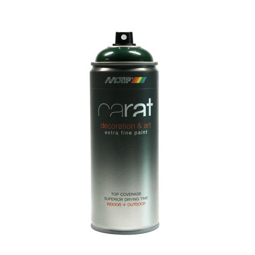 Peinture en spray MoTip Carat vert sapin brillant 400 ml