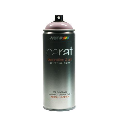 Peinture en spray MoTip Carat rose lotus brillant 400 ml