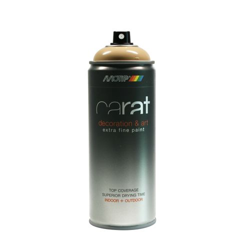 Peinture en spray MoTip Carat beige brillant 400 ml