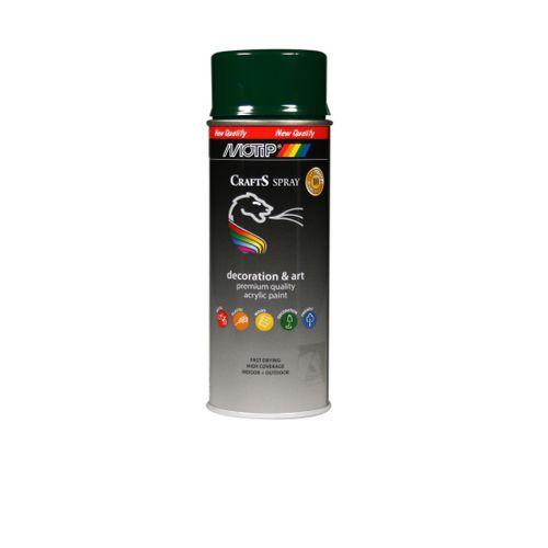 Peinture en spray MoTip CRAFTS argenté brillant 400 ml
