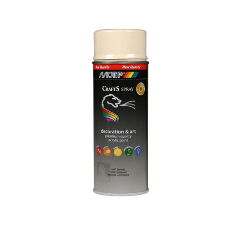 Peinture en spray MoTip Deco Colors gris bleu brillant 400ml