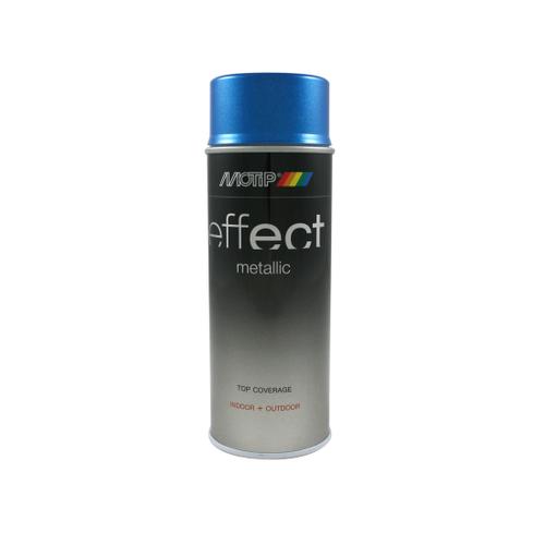 MoTip Deco Effects metallic verf blauw 400ml