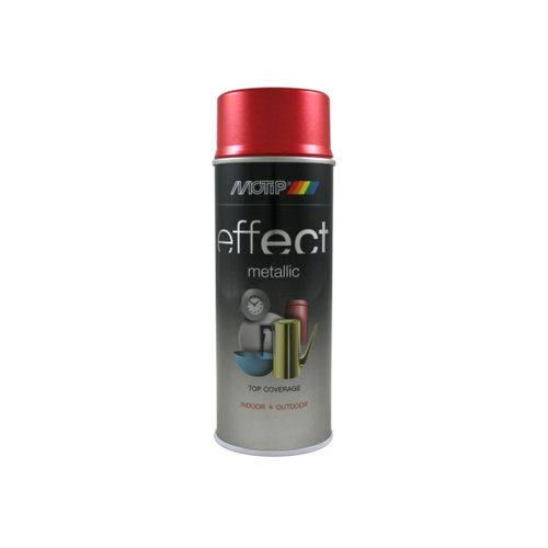MoTip Deco Effects metallic lak rood 400ml