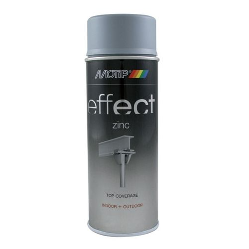Laque MoTip 'Effect' zinc gris mat 400ml