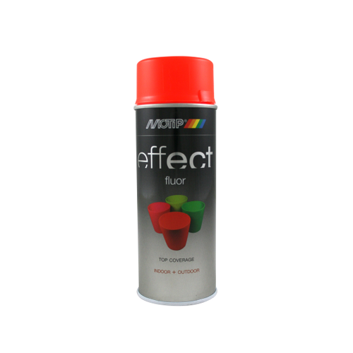 MoTip Deco Effects fluorescerende lak rood-oranje 400ml