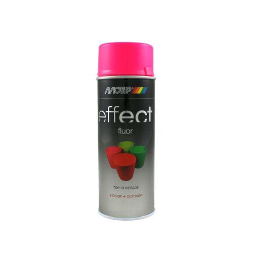 Peinture fluorescente MoTip Deco Effects rose fluo 400 ml