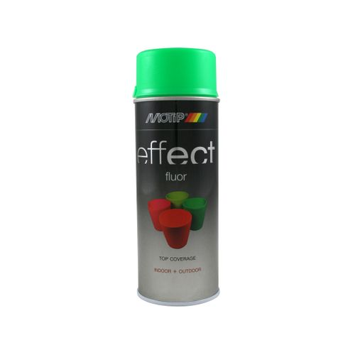 Peinture fluorescente MoTip Deco Effects vert fluo 400ml