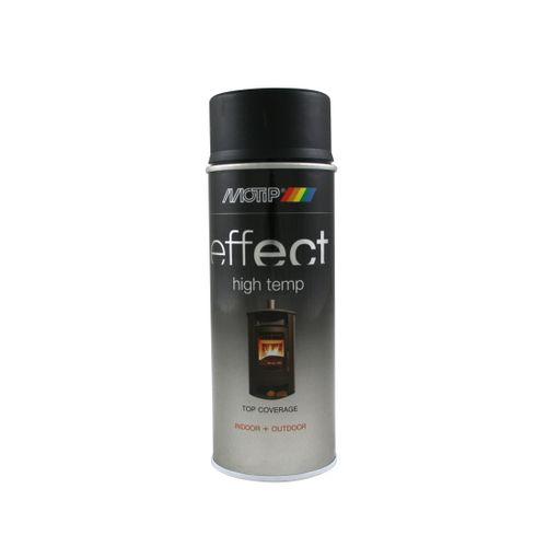 MoTip Deco Effect hittebestendige lak zwart 400ml