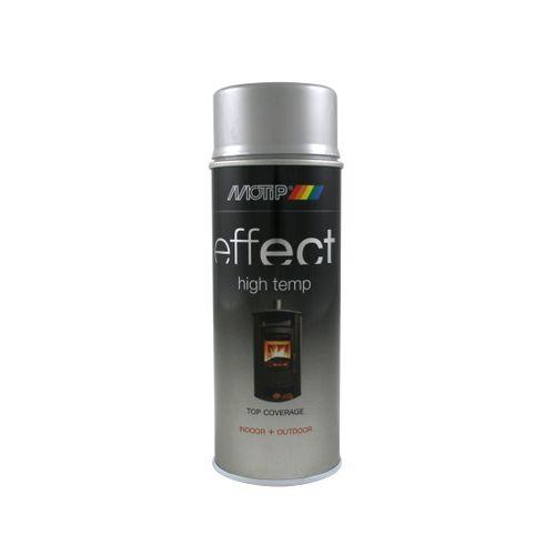 MoTip Deco Effect hittebestendige lak zilver 400ml