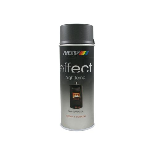 MoTip Deco Effect hittebestendige lak antraciet 400ml