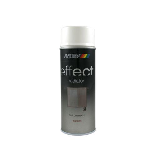 MoTip Deco Effect radiatorlak wit hoogglans 400ml