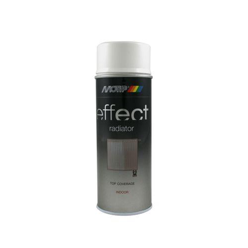 Laque MoTip 'Effect' pour radiateur blanc satin 400ml