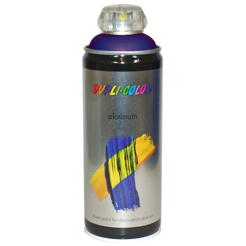Peinture en spray Dupli-Color Platinum bleu royal satiné 400 ml