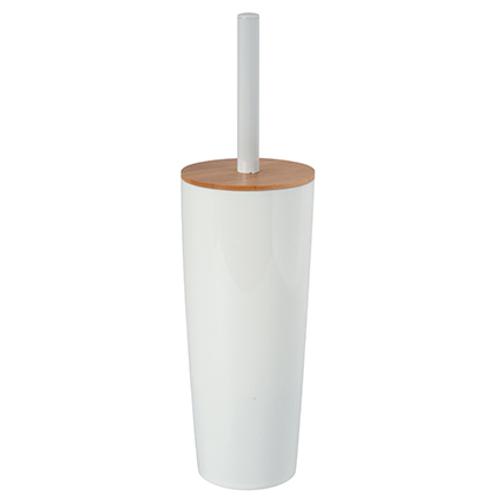 MSV toiletborstel met houder Oslo wit