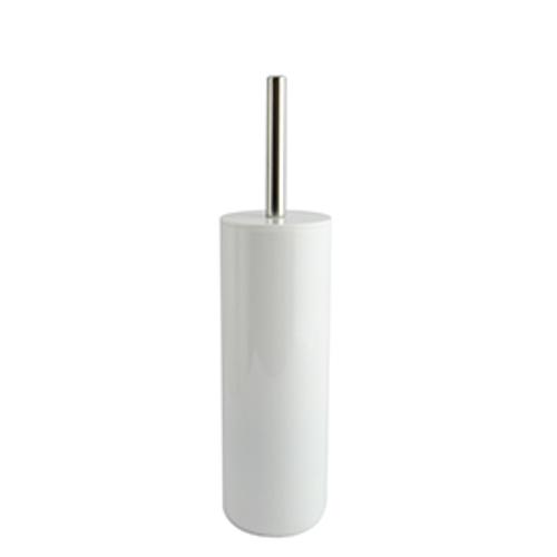 MSV toiletborstel met houder Inagua wit