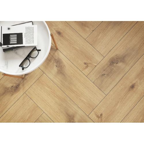 Carrelage sol Meissen Ceramics Sandwood brun 18,5x60cm 1m²