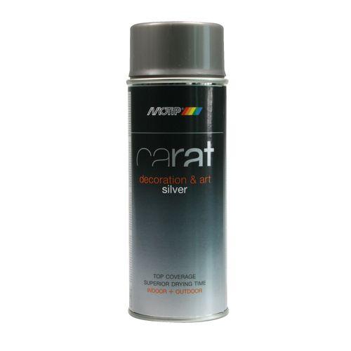Peinture en spray MoTip Carat argenté 400 ml