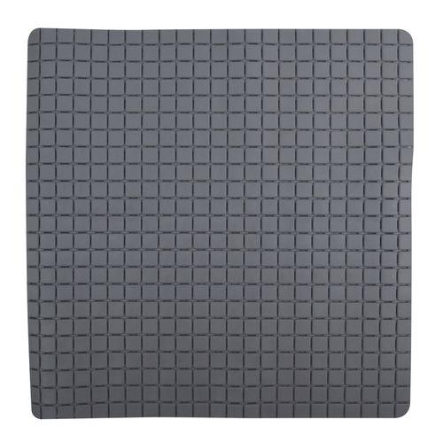 Tapis antidérapant MSV Quadro gris 54x54cm