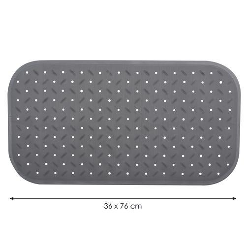 Tapis antidérapant MSV Classic gris 36x76cm