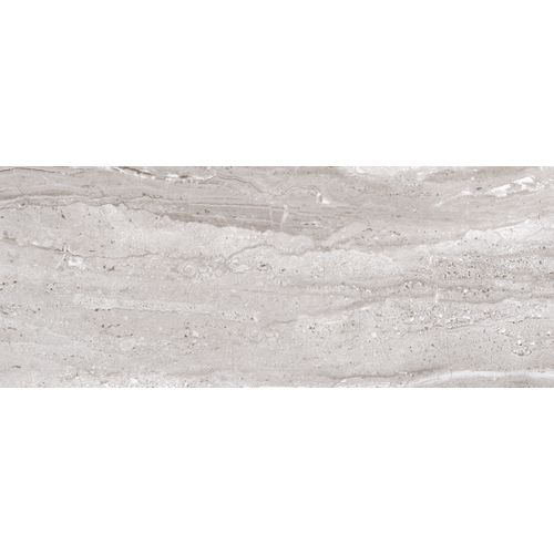 Carrelage mur Opera Travertino gris 20x50cm 1,7m²