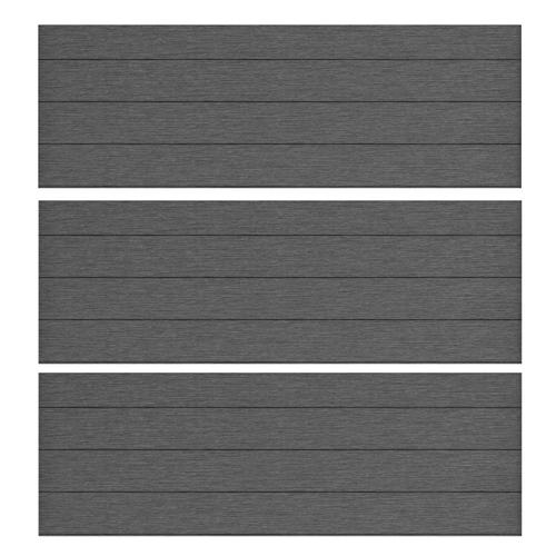 Keter paneel DuoTech Marly grijs 180x60cm 3 stuks