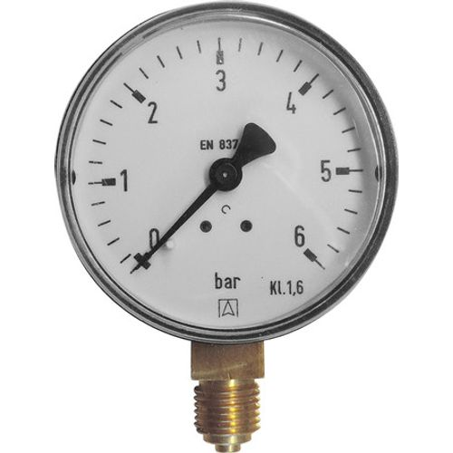 "GO by Van Marcke manometer Ø63mm universeel 0-6 bar 1/4""M"