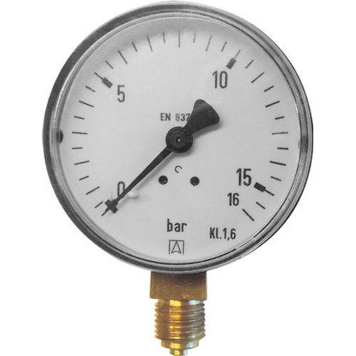 "GO by Van Marcke manometer Ø63mm universeel 0-16 bar 1/4""M"