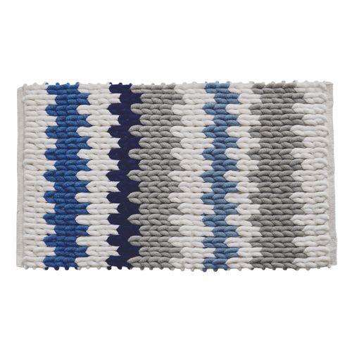 Future home badmat Bayada marineblauw 50x80cm polyester