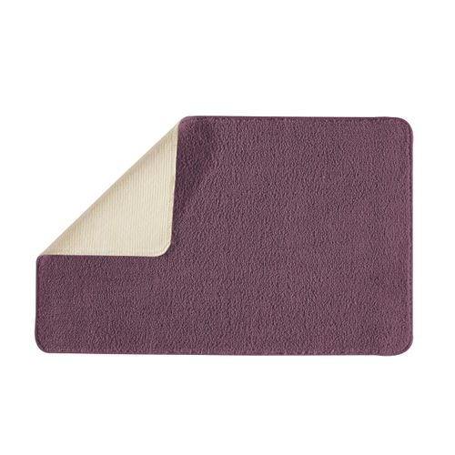 Future home badmat Polynesie violet 50x80cm polyester