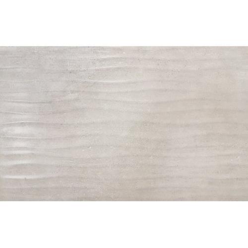 Carrelage mur Meissen Ceramics Decor Rostops gris clair structuré 25x40cm 1,2m²
