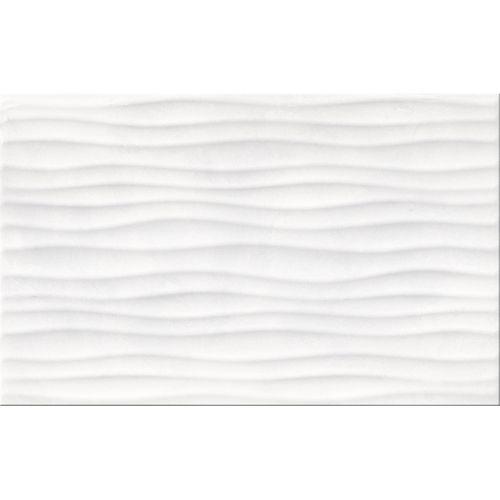 Carrelage mur Meissen Ceramics Elle blanc structuré 25x40cm 1,2m²
