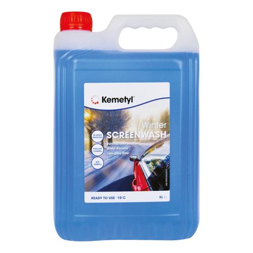 Kemetyl ruitensproeiervloeistof antivries -15°C 5L