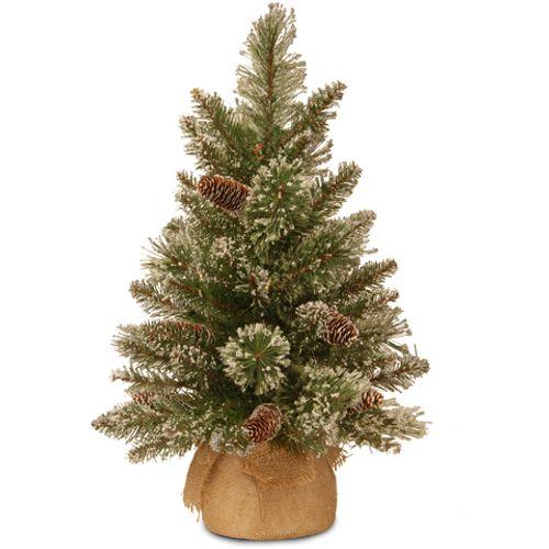 Kunstkerstboom tafelmodel Glittery Bristle 61cm